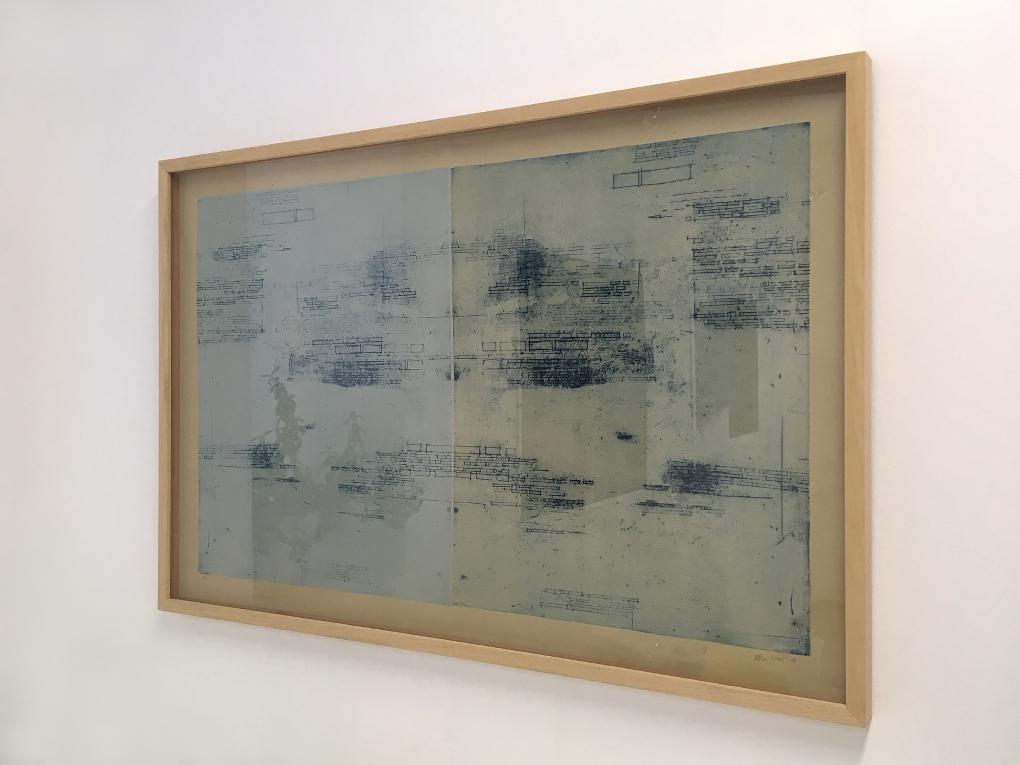 Against Syntax 1/5, 2018 (Aguafuerte, 70×110 cm)