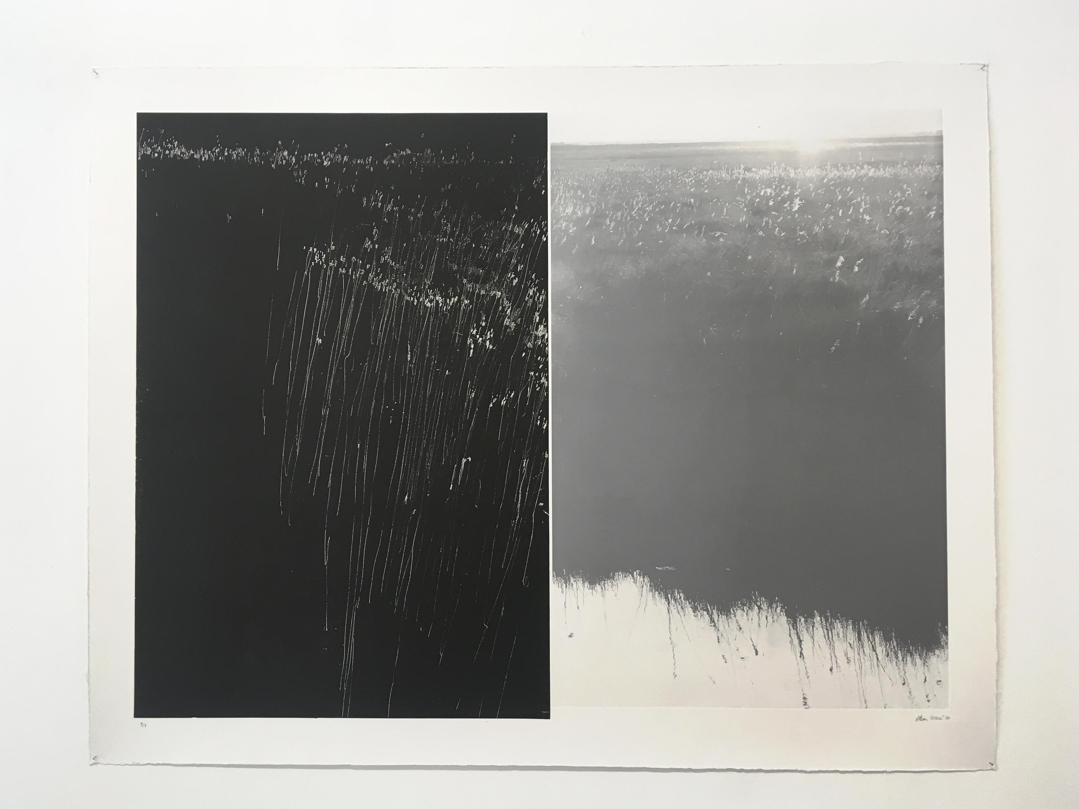 Entre plecs 3/8, 2017 (Aguafuerte y fotopolímero, 80×104 cm)