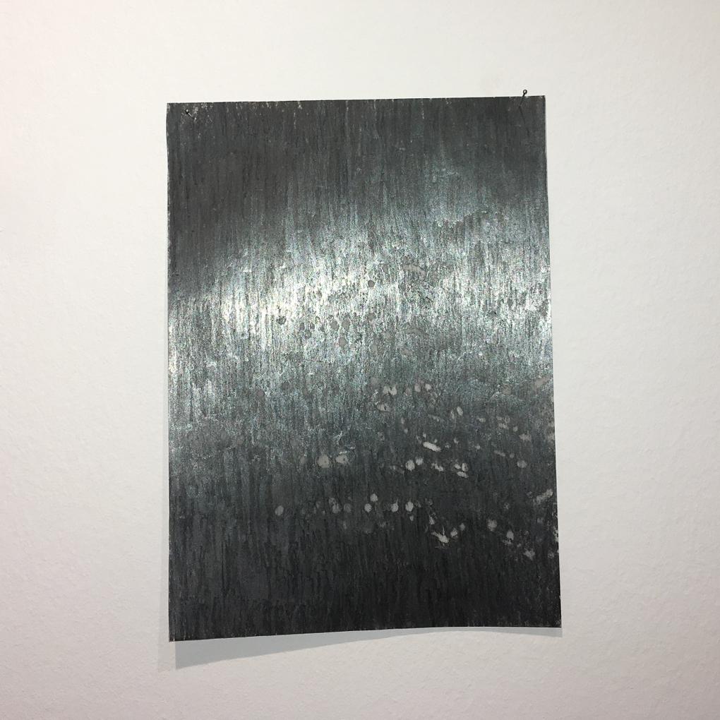 Signos de resistencia, 2018 (Frottage, 20×15 cm)